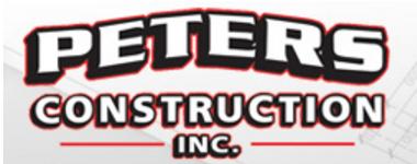 Peters Construction Inc. Logo