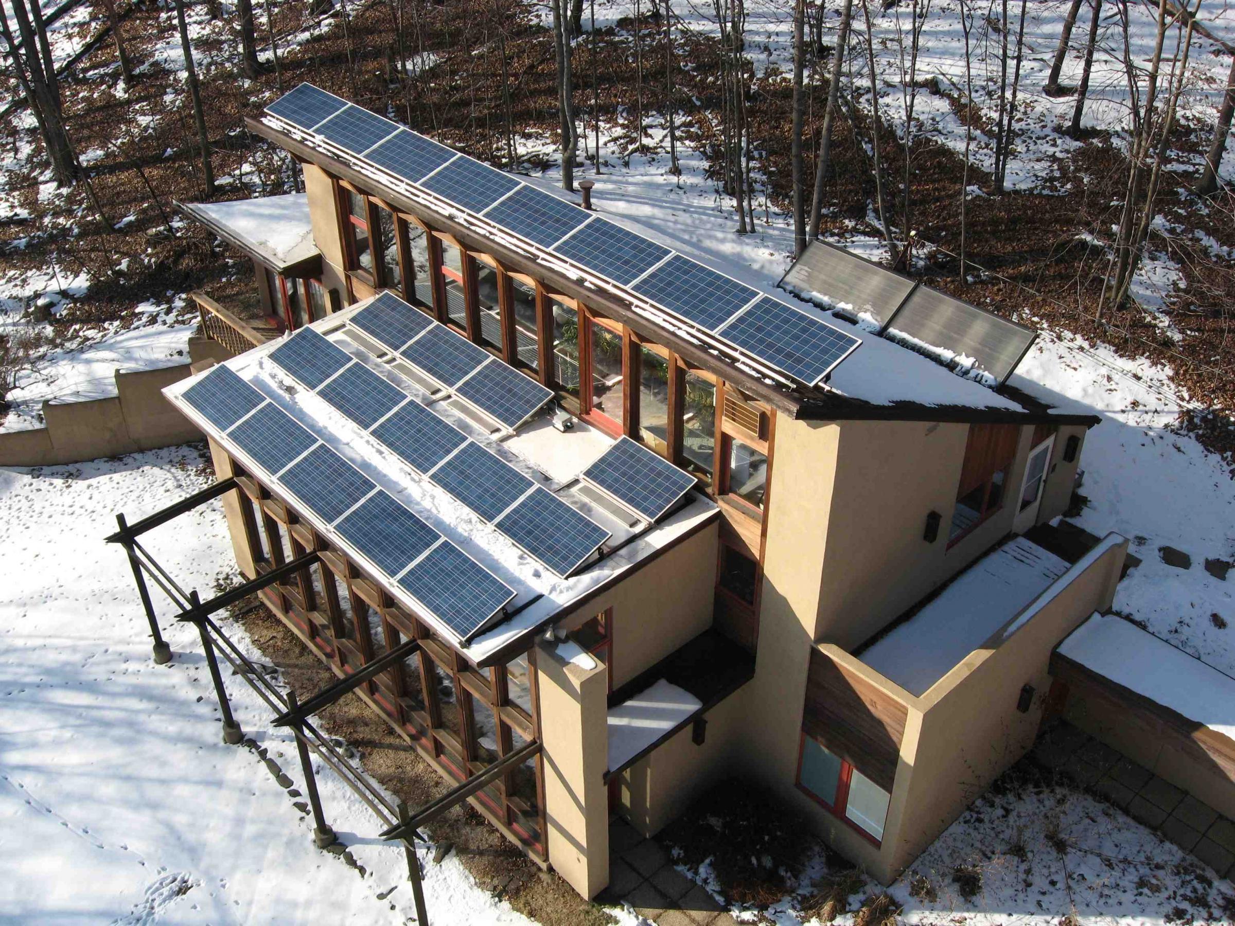 Helios passive active solar home nesea Solar passive home designs