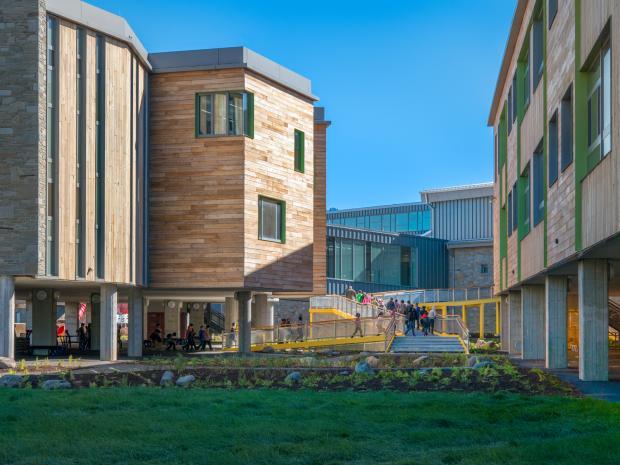 Exterior shot of MacArthurt Elementary School