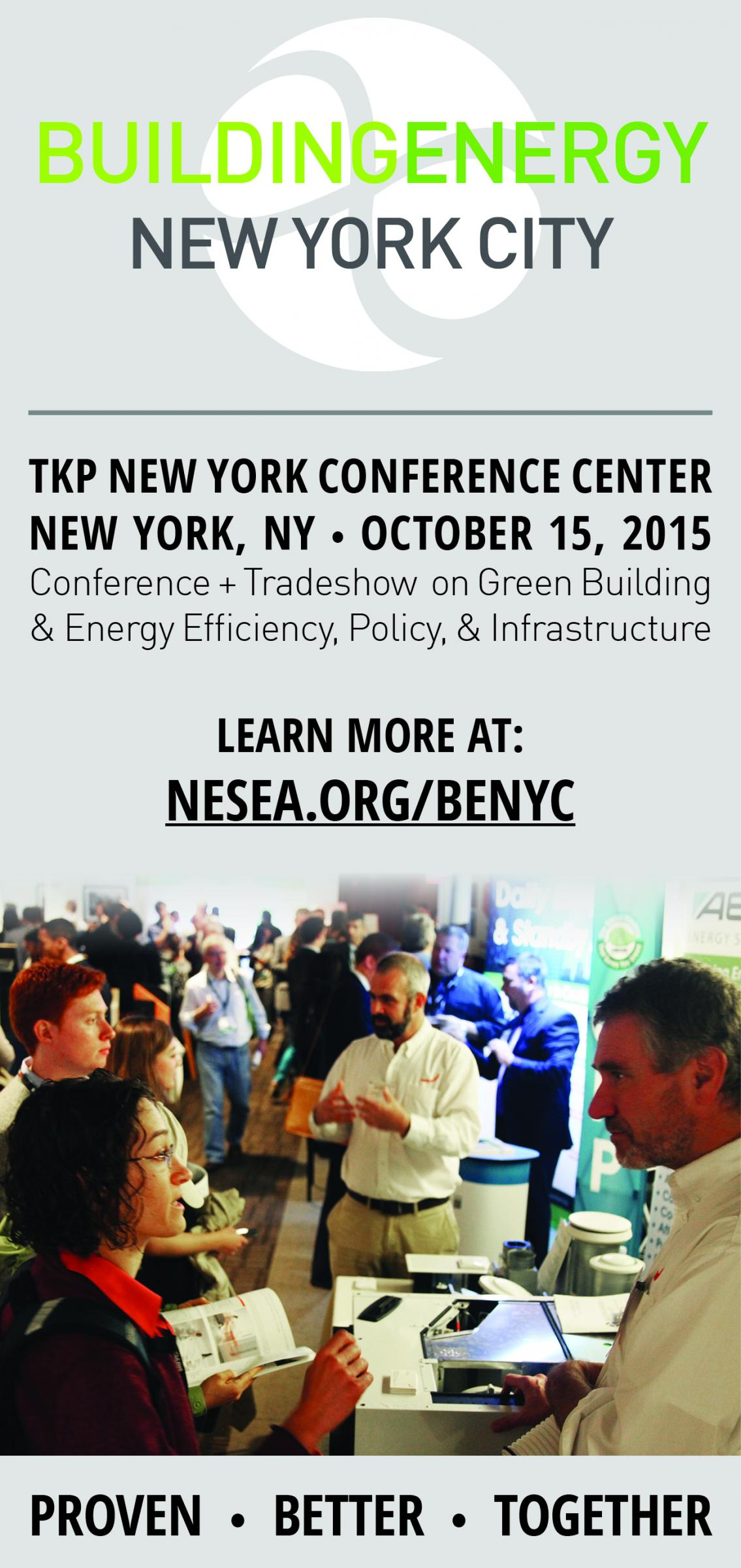 Attend BuildingEnergy NYC 15 Oct. 15th in New York City